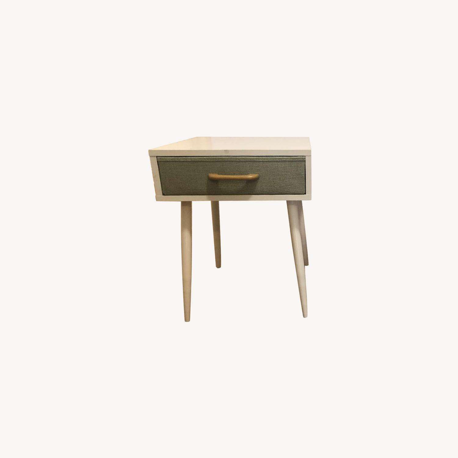 White & Green Nightstands - image-5