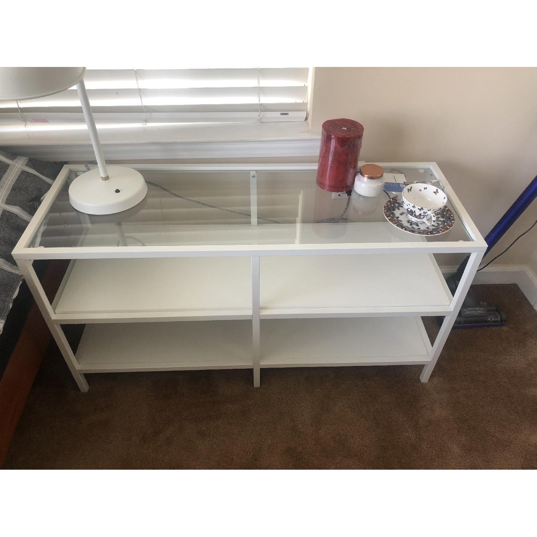Ikea Vittsjo White TV Unit - image-2