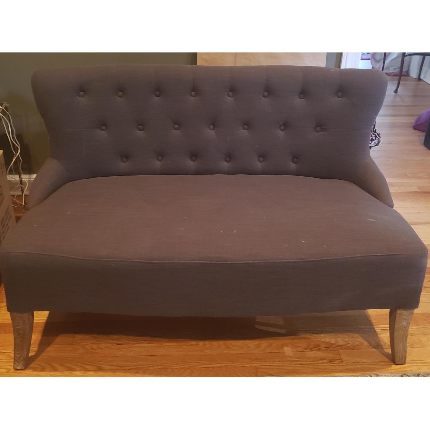 Jayson Home Fabric Loveseat - image-1