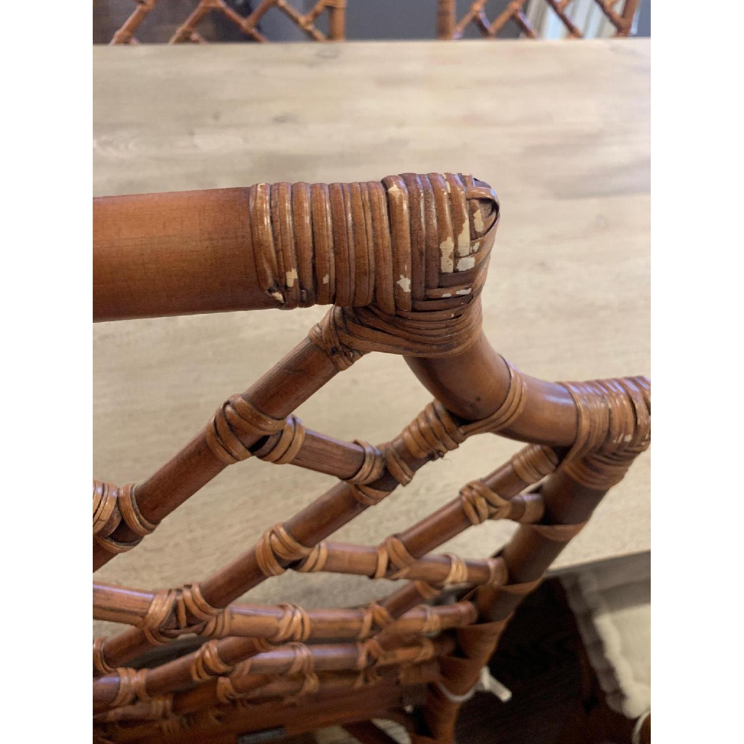 Pier 1 Rattan Dining Chairs - image-6