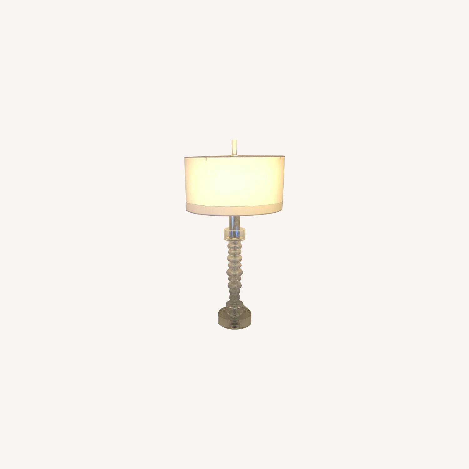 Global Views Round Table Lamps - image-0