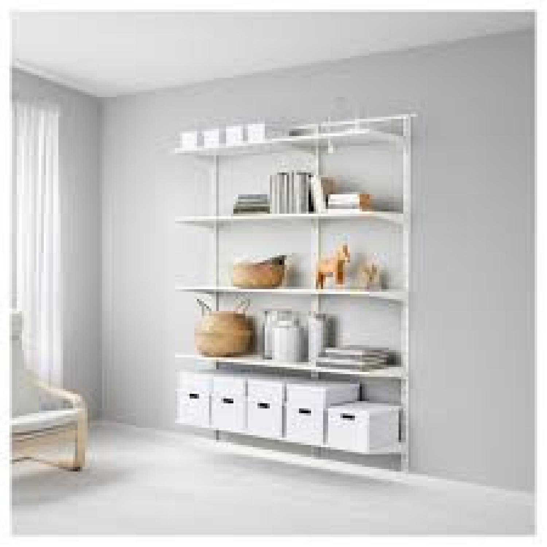 Ikea Algot Wall Shelves - image-1