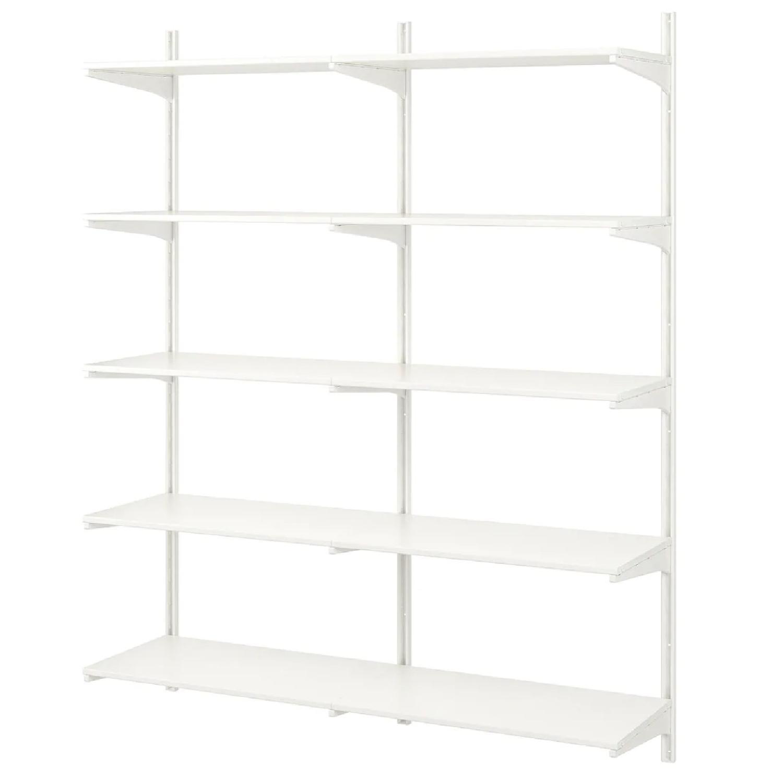 Ikea Algot Wall Shelves - image-0