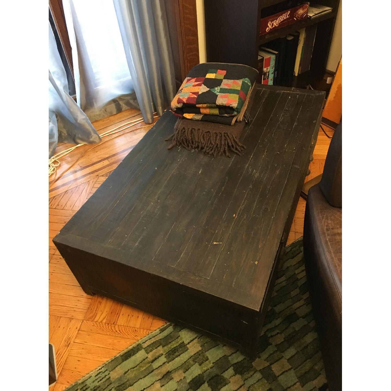 Restoration Hardware Printmaker's Coffee Table - image-4
