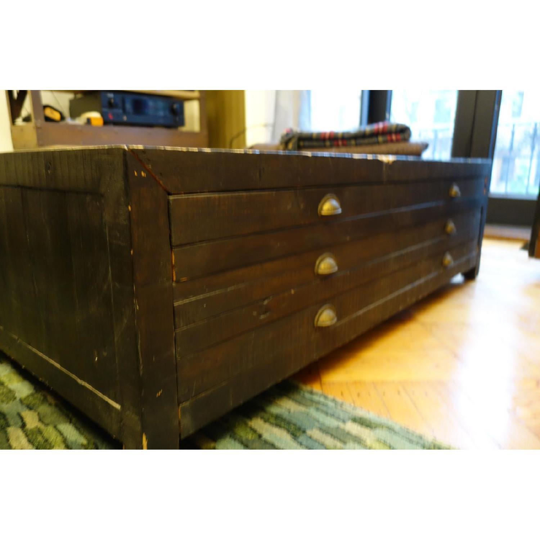 Restoration Hardware Printmaker's Coffee Table - image-5