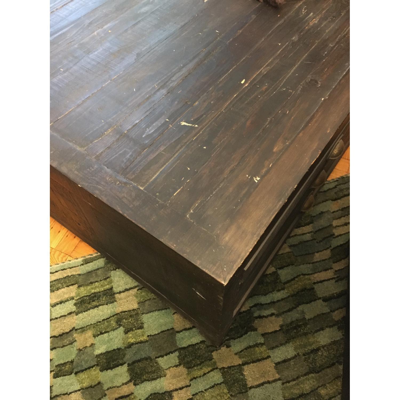 Restoration Hardware Printmaker's Coffee Table - image-6