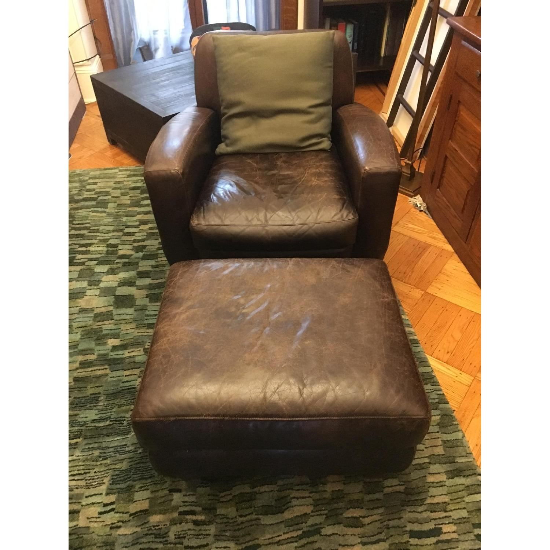 Restoration Hardware Coco Club Chair - image-5