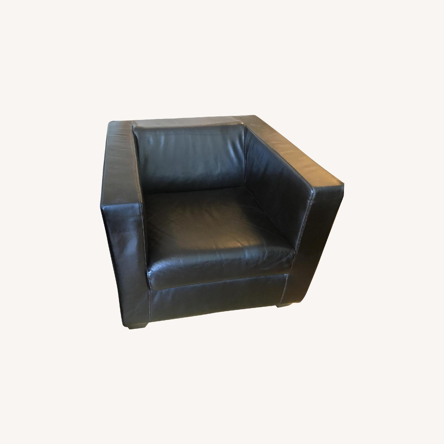 Exquisite Brown Leather Chairs - image-0