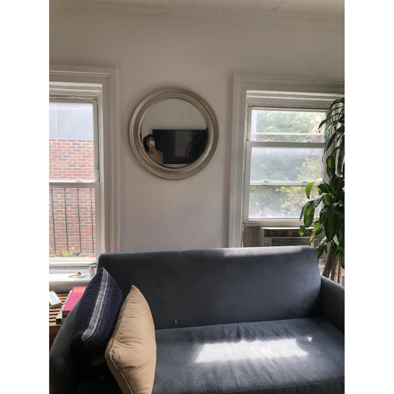 CB2 Flatiron Dove Grey Apartment Sofa - image-1