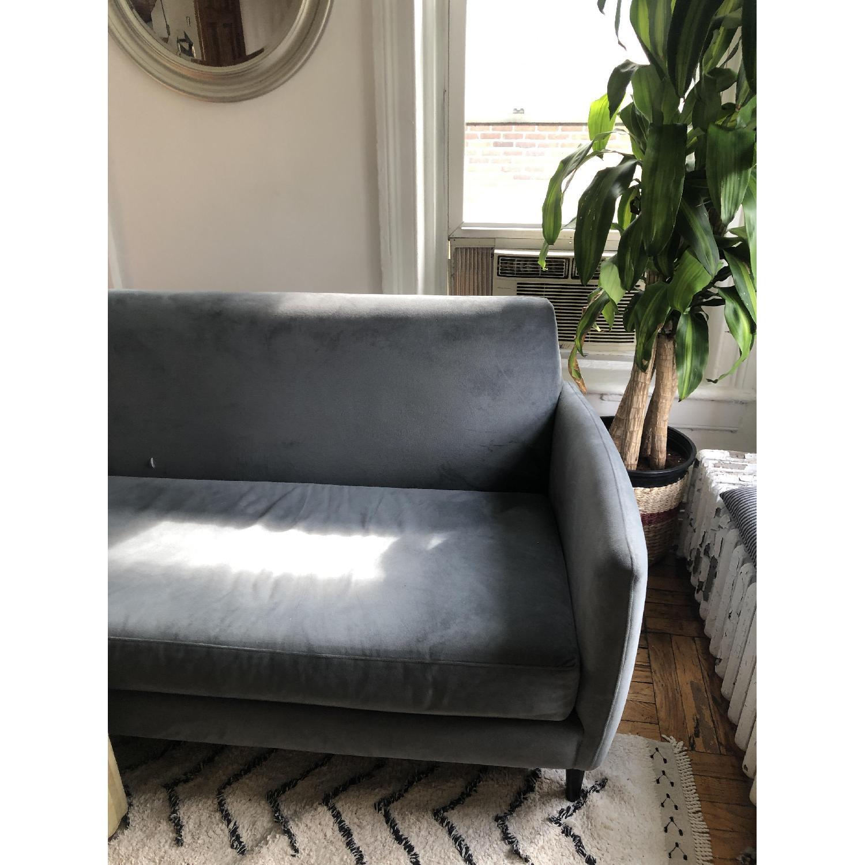 CB2 Flatiron Dove Grey Apartment Sofa - image-4