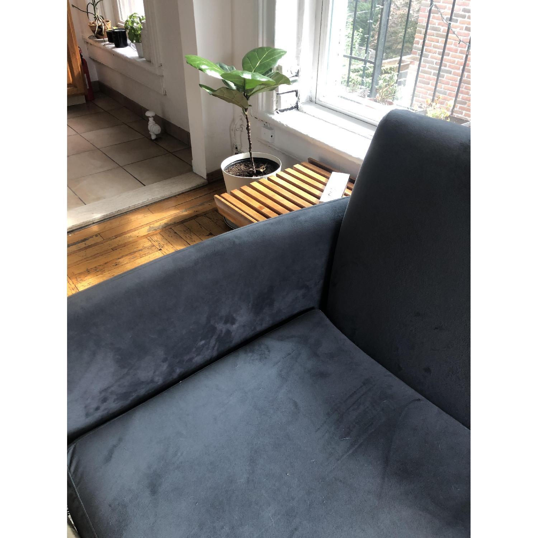 CB2 Flatiron Dove Grey Apartment Sofa - image-5