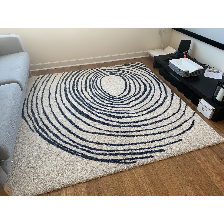 Ikea Eivor Cirkel Swirl Rug - image-1