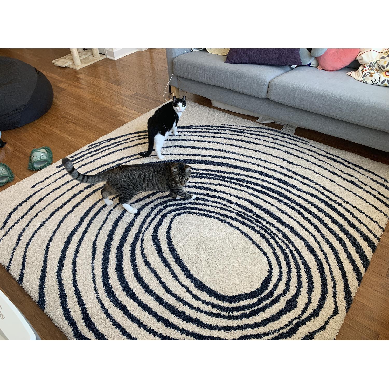 Ikea Eivor Cirkel Swirl Rug - image-2