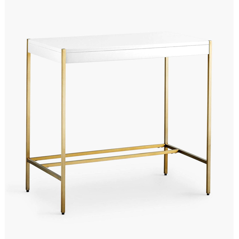 West Elm Zane Mini Desk - image-9