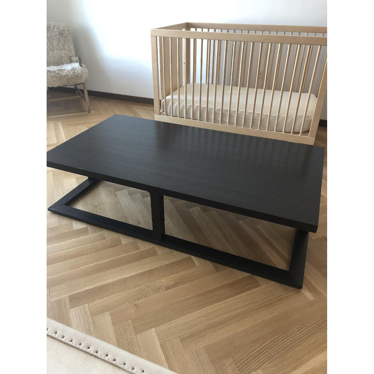 Black Wooden Coffee Table - image-3