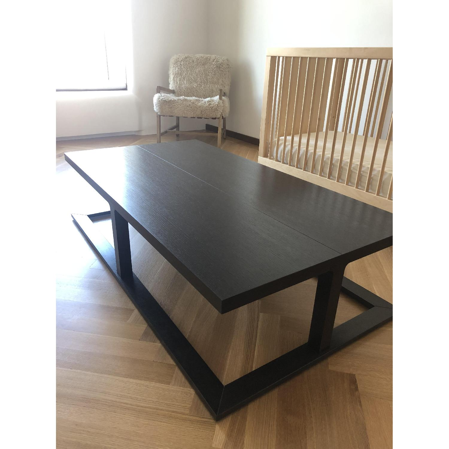 Black Wooden Coffee Table - image-2