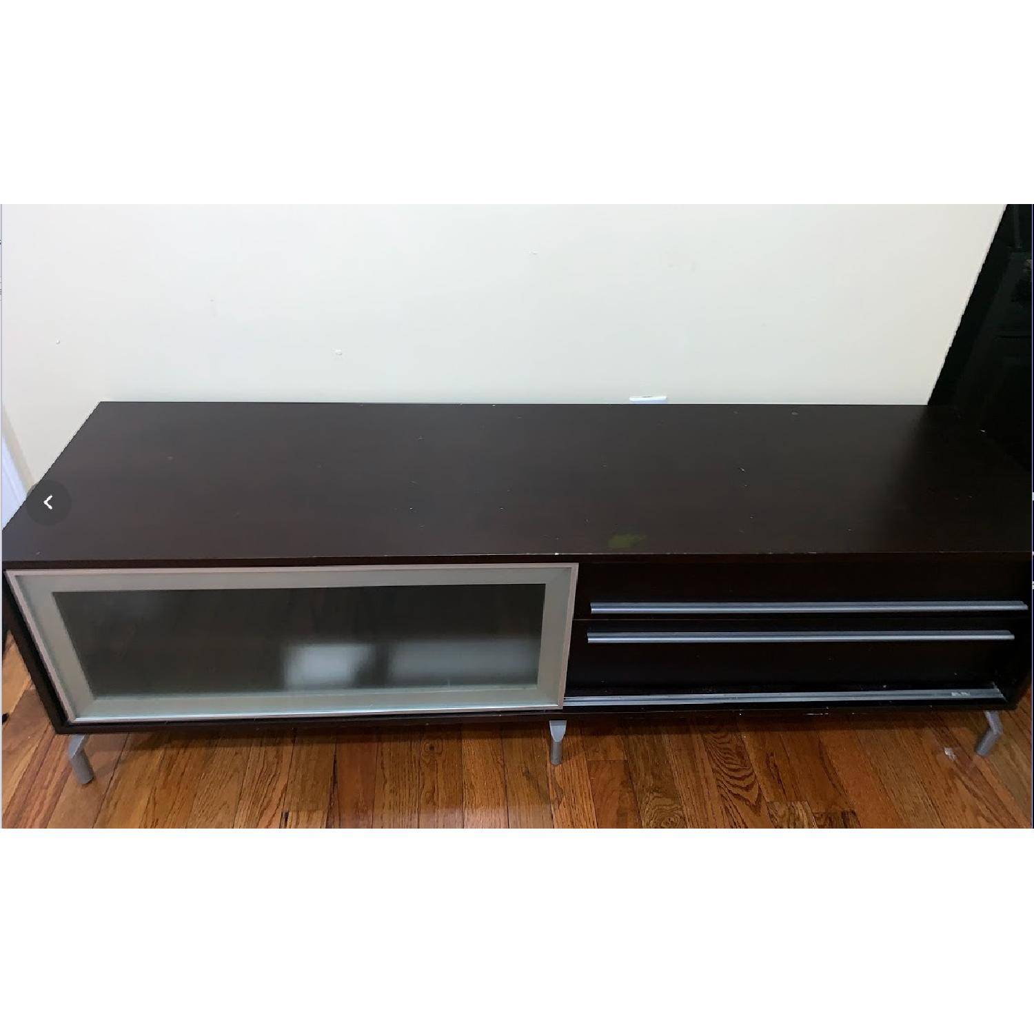 Solid Wood Media Console - image-2