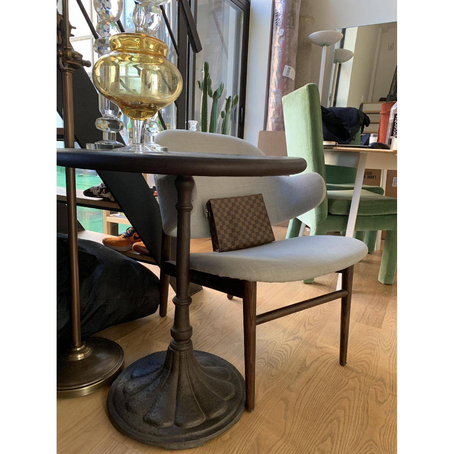 Restoration Hardware Chrysanthemum Bistro Table - image-3