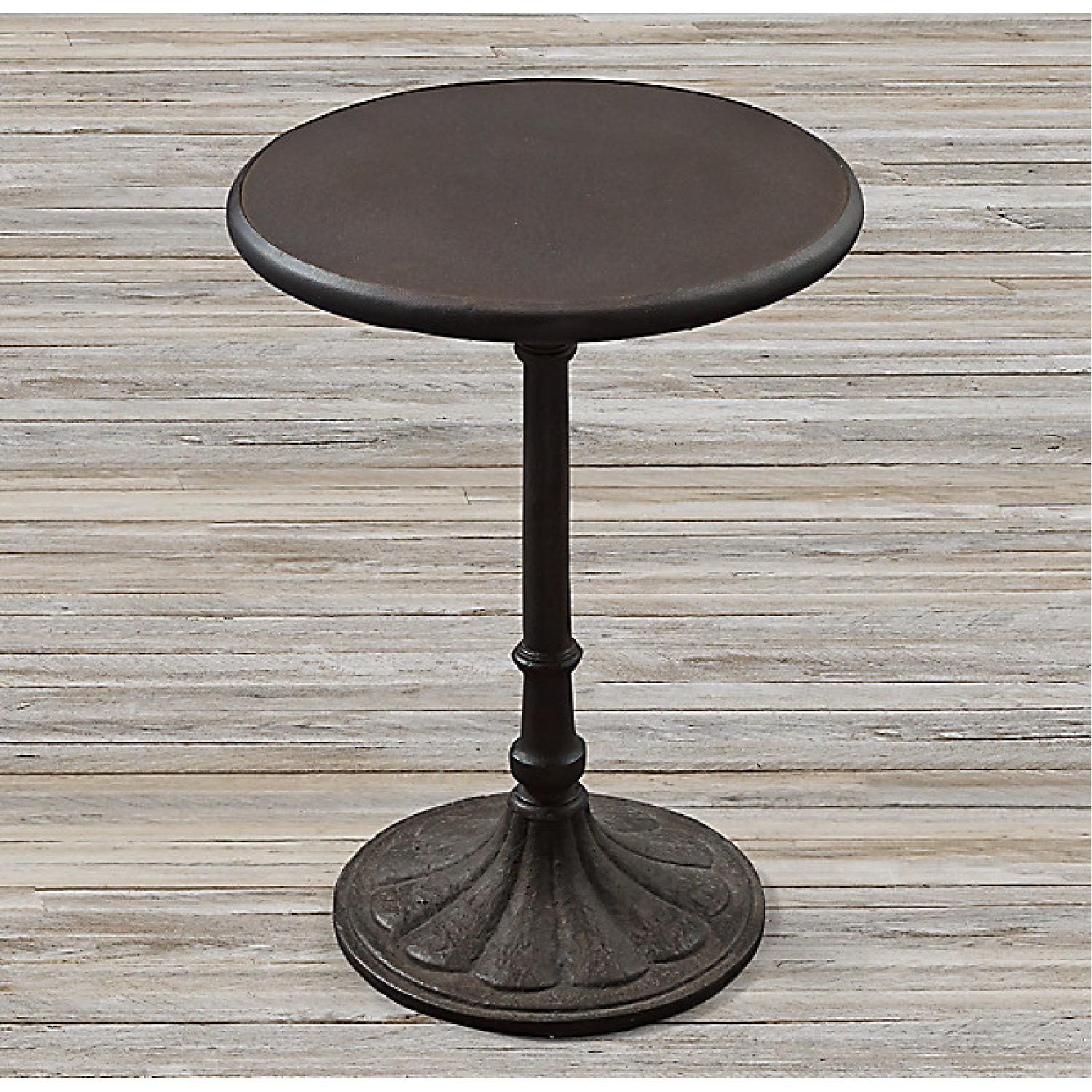 Restoration Hardware Chrysanthemum Bistro Table - image-5