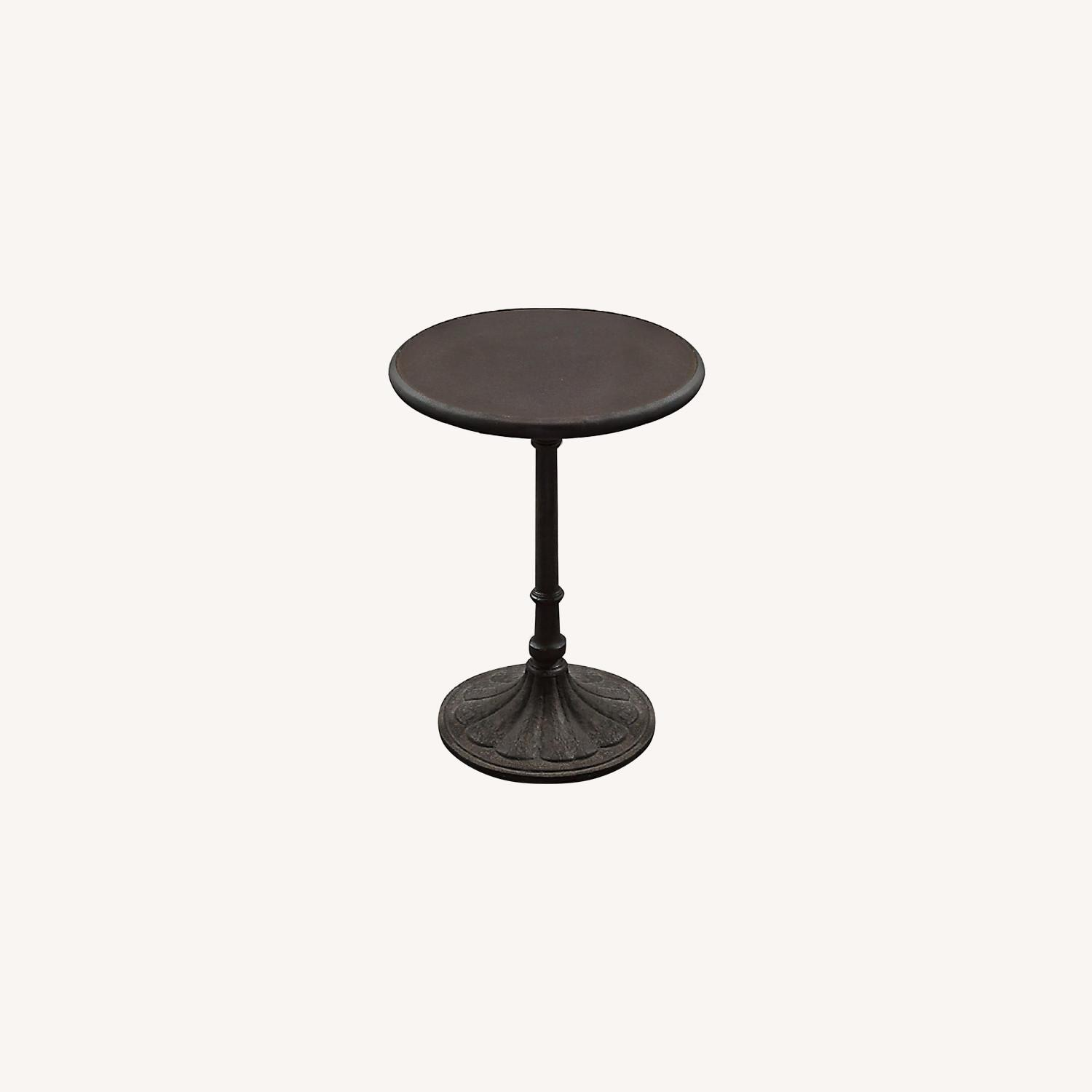 Restoration Hardware Chrysanthemum Bistro Table - image-0