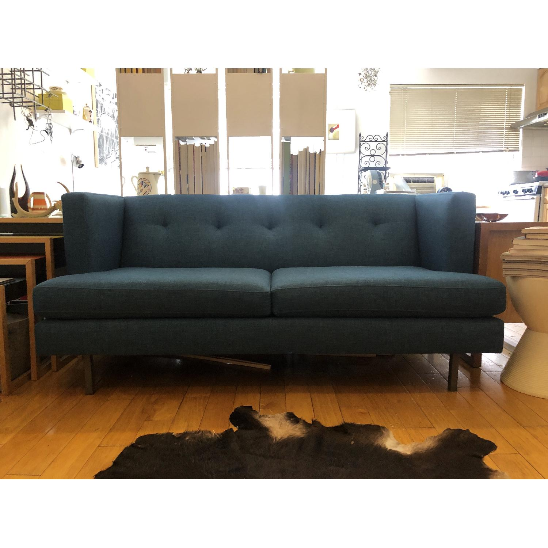 CB2 Avec Apartment Sofa in Peacock - image-1