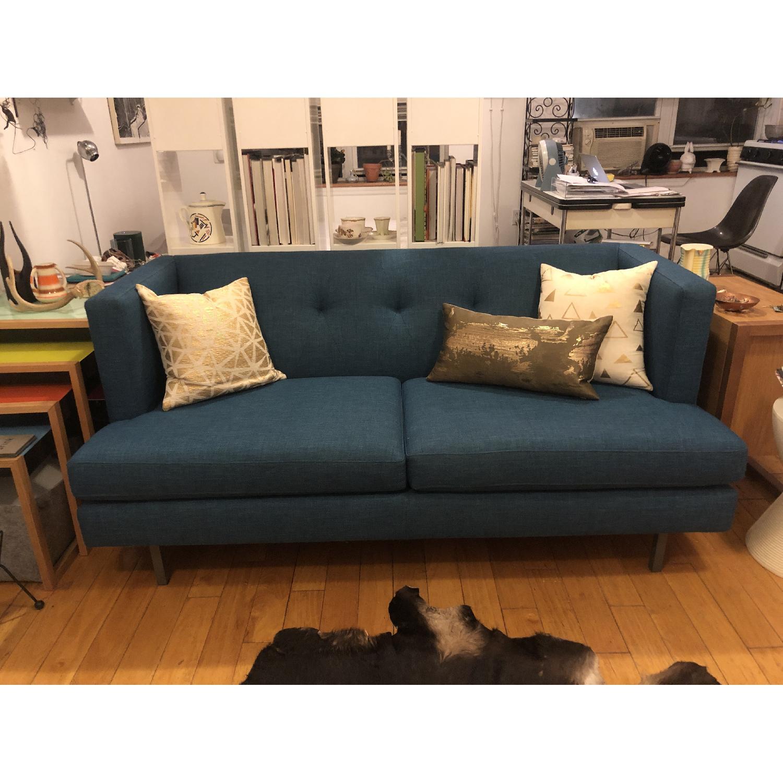 CB2 Avec Apartment Sofa in Peacock - image-2