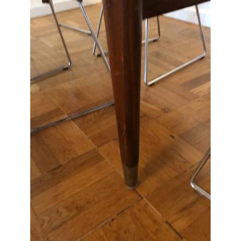 Standard Mid Century Modern Wooden Desk w/ Drawer - image-3