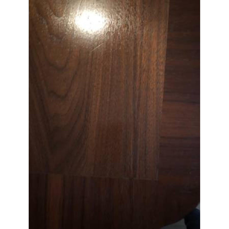 Standard Mid Century Modern Wooden Desk w/ Drawer - image-4