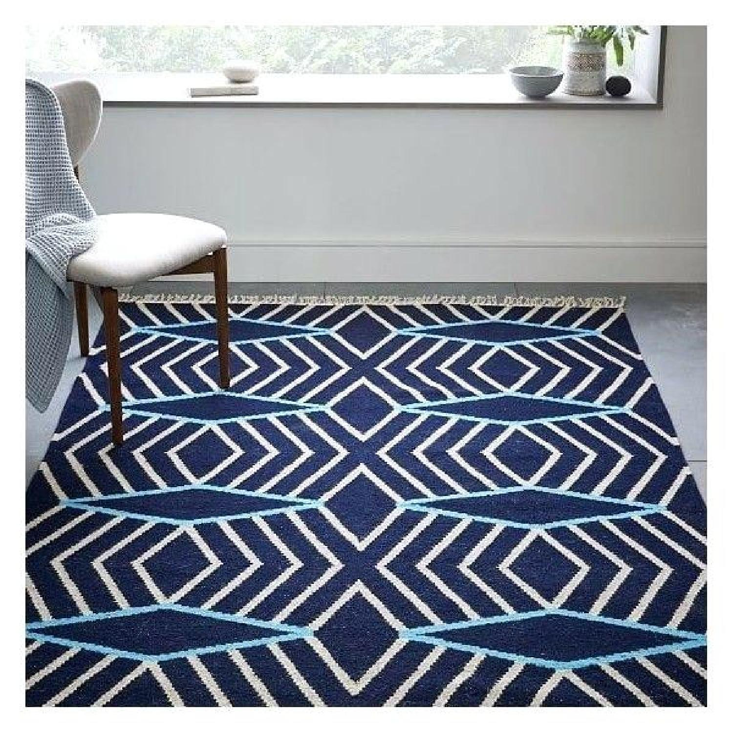 West Elm Kite Wool Kilim Rug - image-1