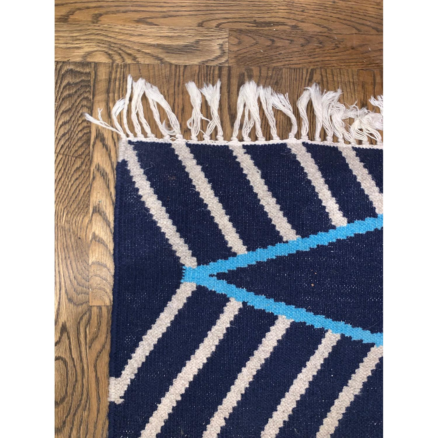 West Elm Kite Wool Kilim Rug - image-3