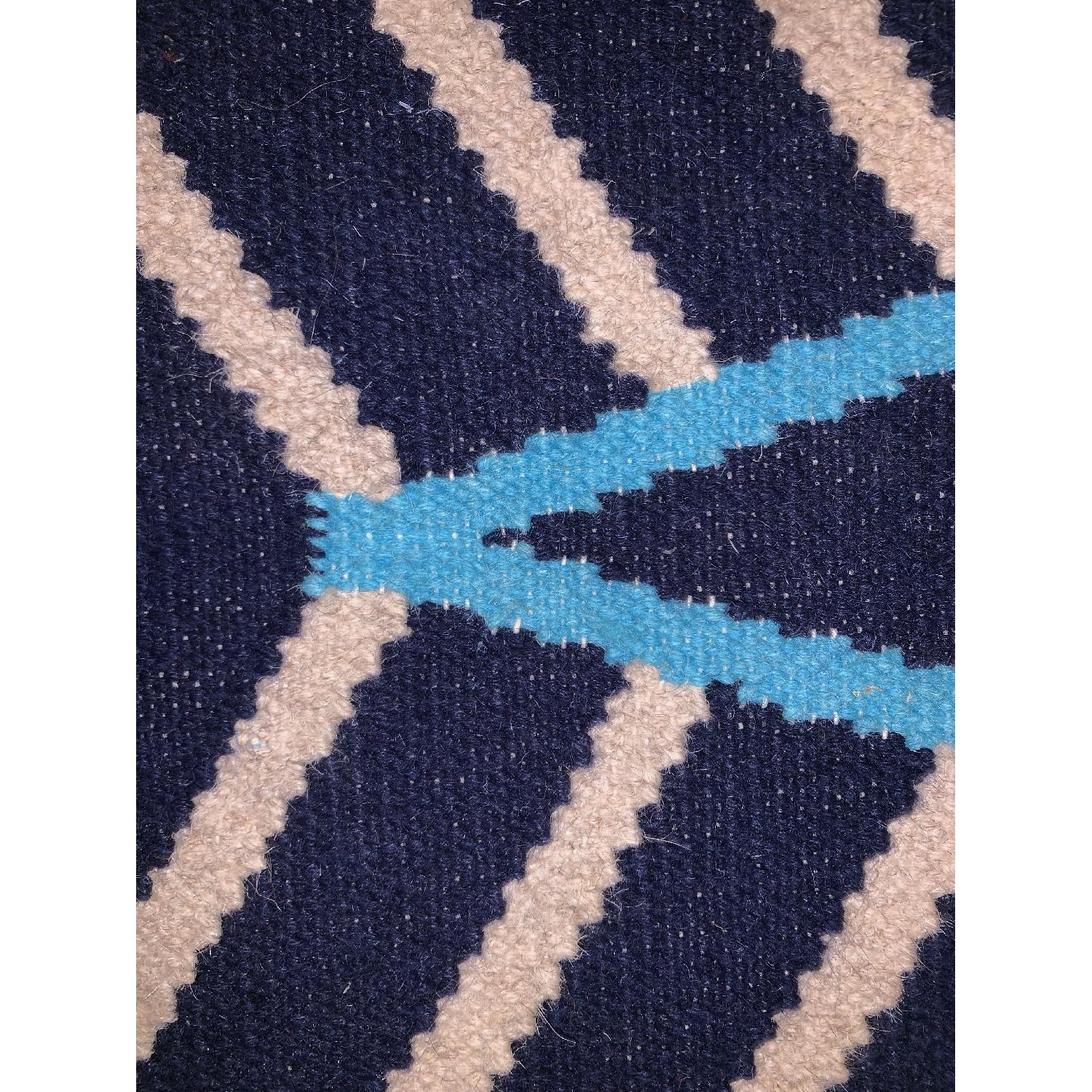 West Elm Kite Wool Kilim Rug - image-4