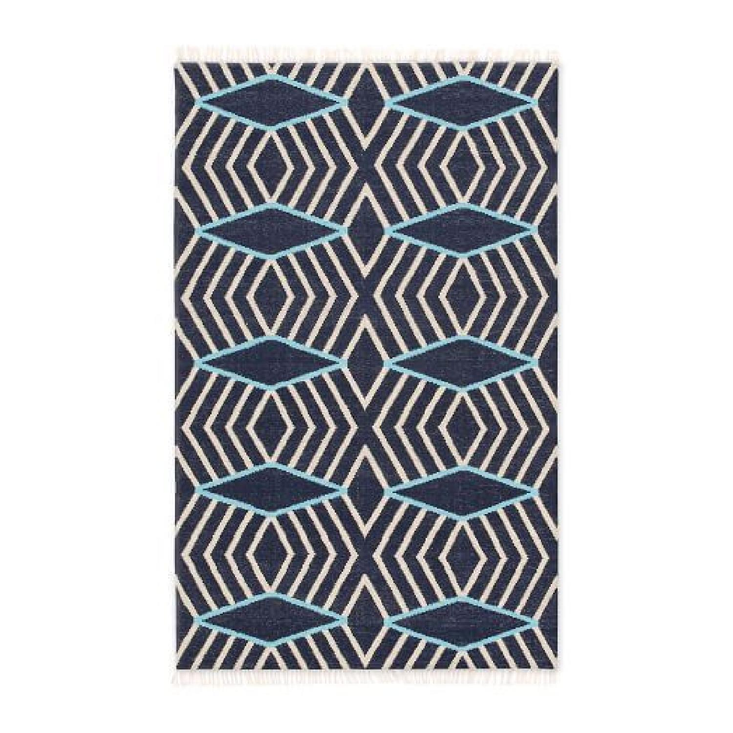 West Elm Kite Wool Kilim Rug - image-0