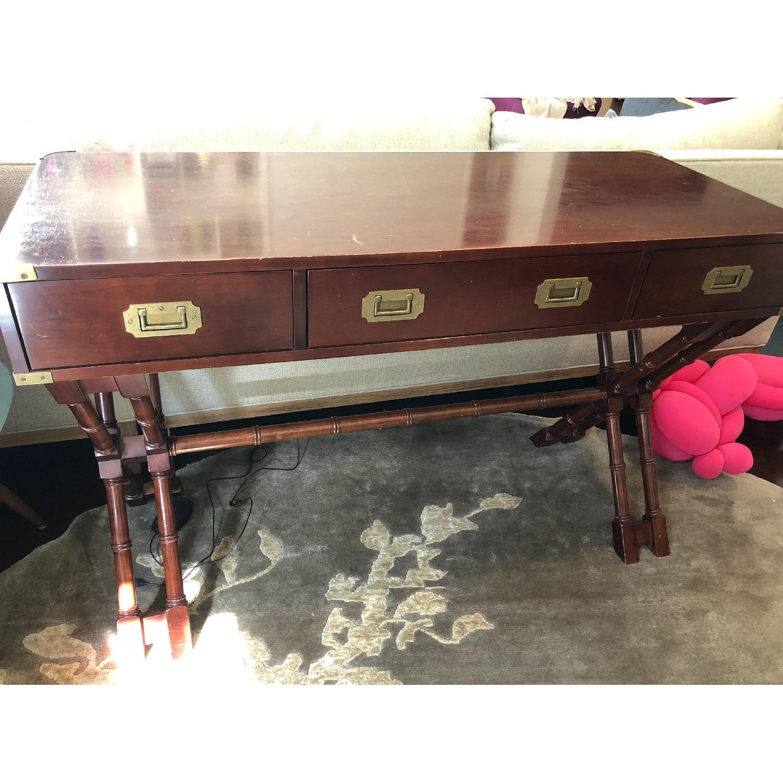 Bombay Wood Desk - image-1