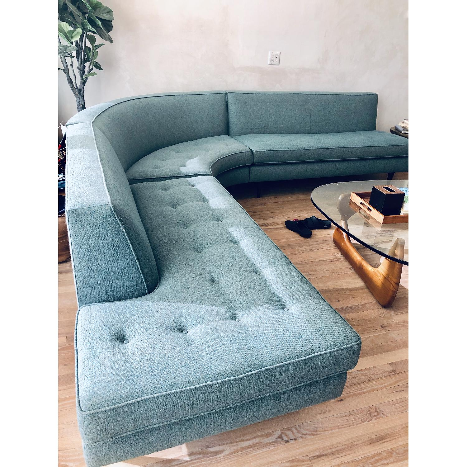 Room & Board Reese Curved Sectional - image-4
