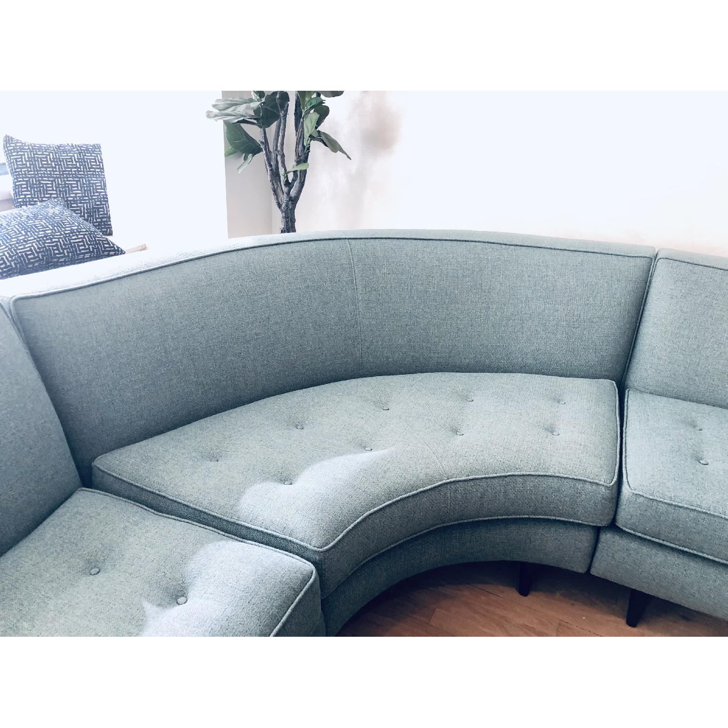 Room & Board Reese Curved Sectional - image-8