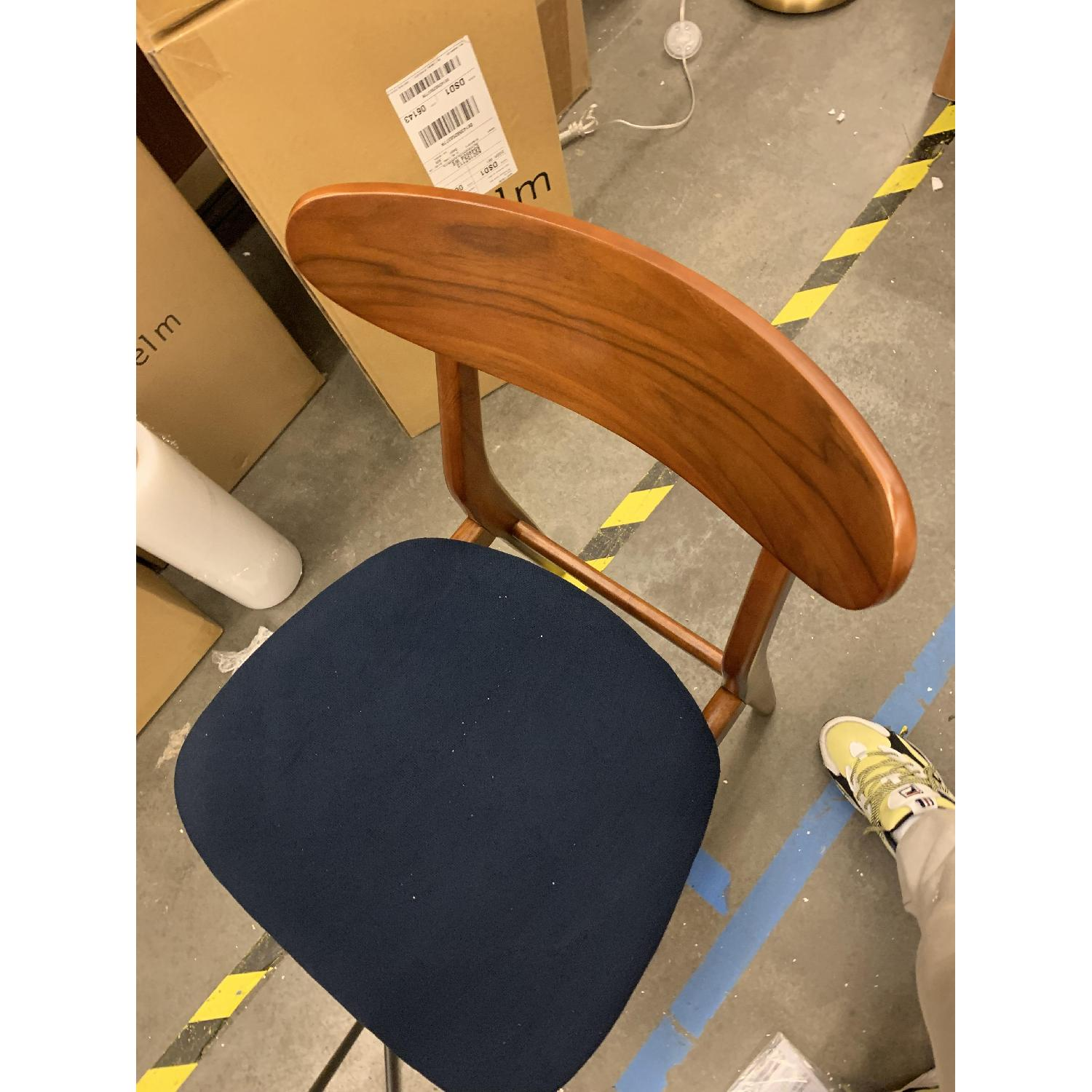 West Elm Classic Cafe Dining Chair in Nightshade - image-2
