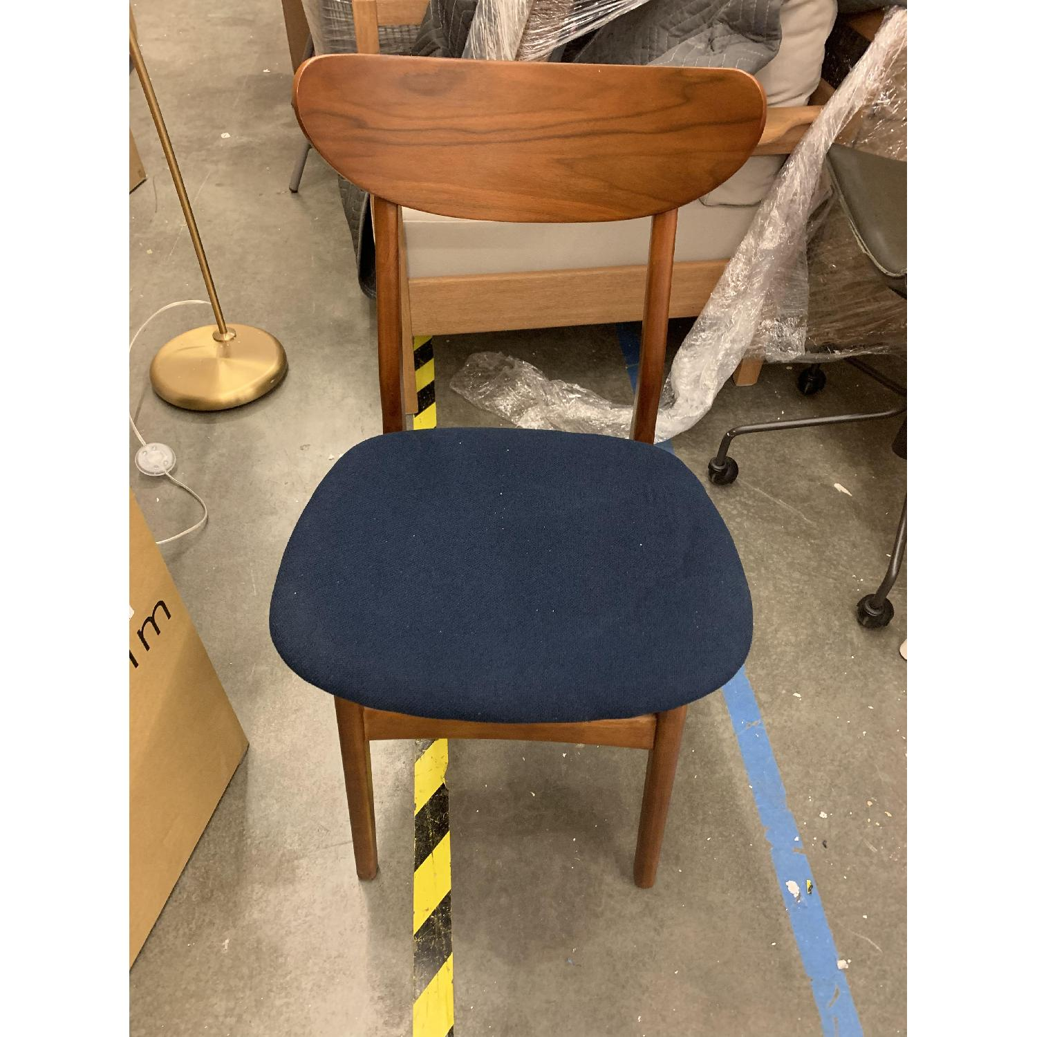 West Elm Classic Cafe Dining Chair in Nightshade - image-3