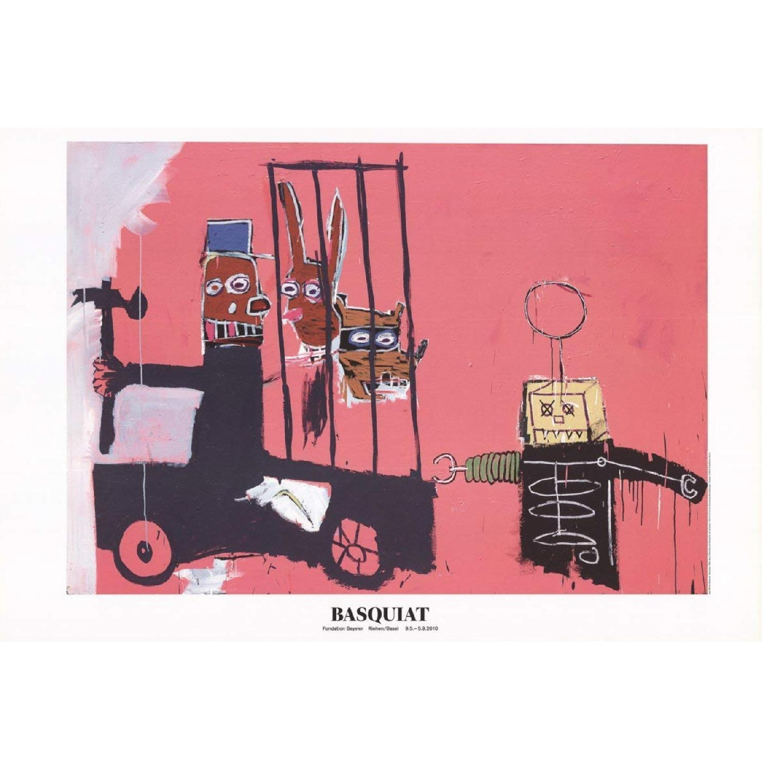Jean Michel Basquiat Limited Edition Wall Art - image-0