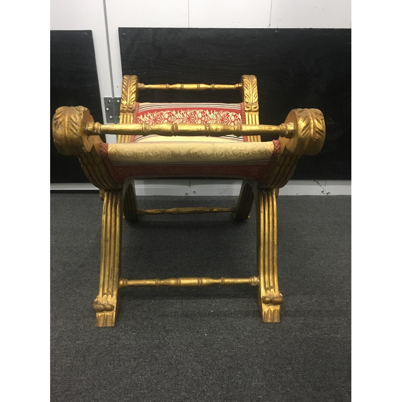 Taylor Made Custom Furniture Gilded bench - image-2