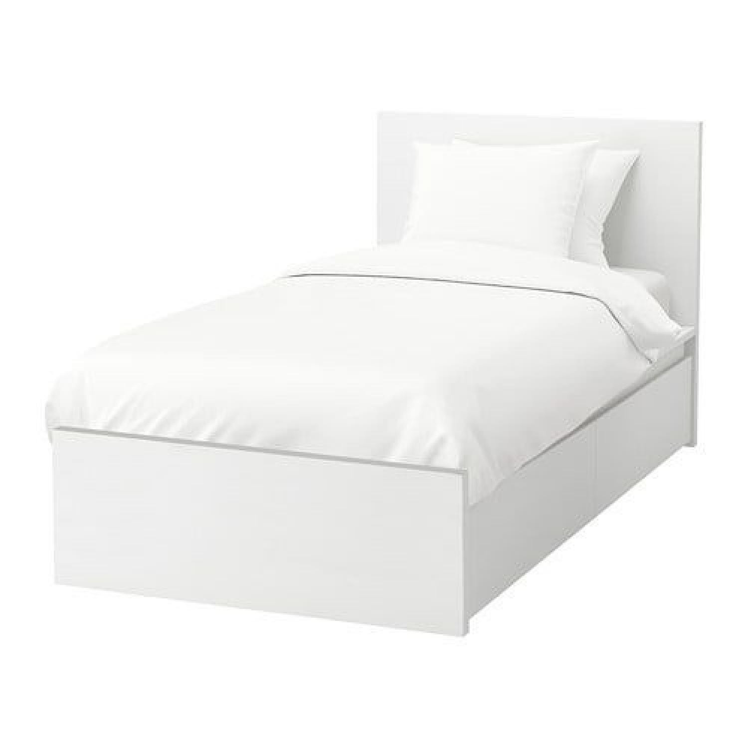 Ikea Malm Twin Storage Bed