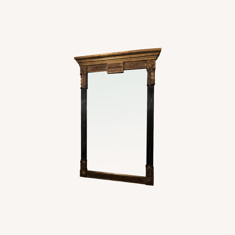 Classic Design Black & Gold Neo Classic Mirror - image-0