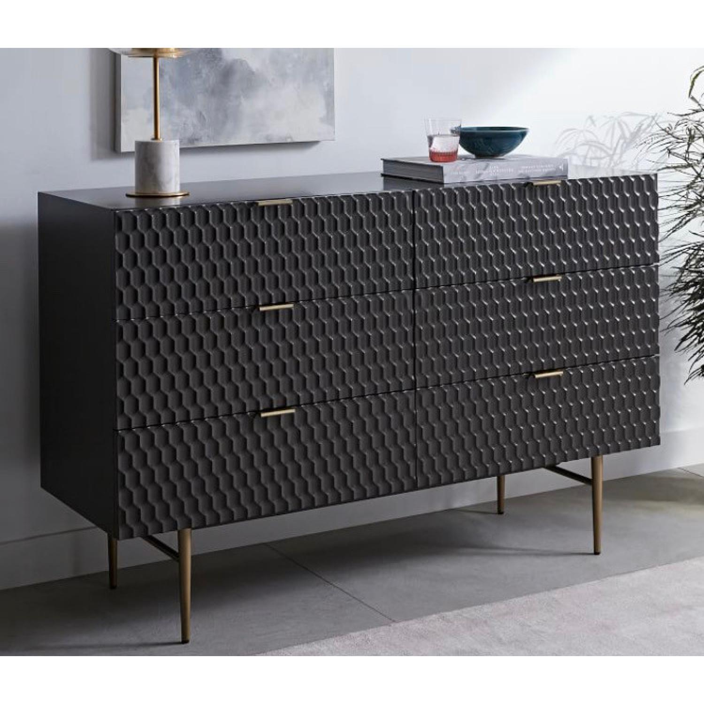 West Elm Audrey 6 Drawer Dresser - image-1