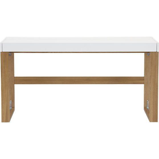 CB2 Modern Desk w/ Sliding Top Compartment
