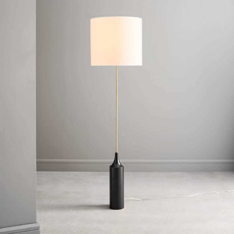 West Elm Hudson Floor Lamp in Dark Bronze - image-1