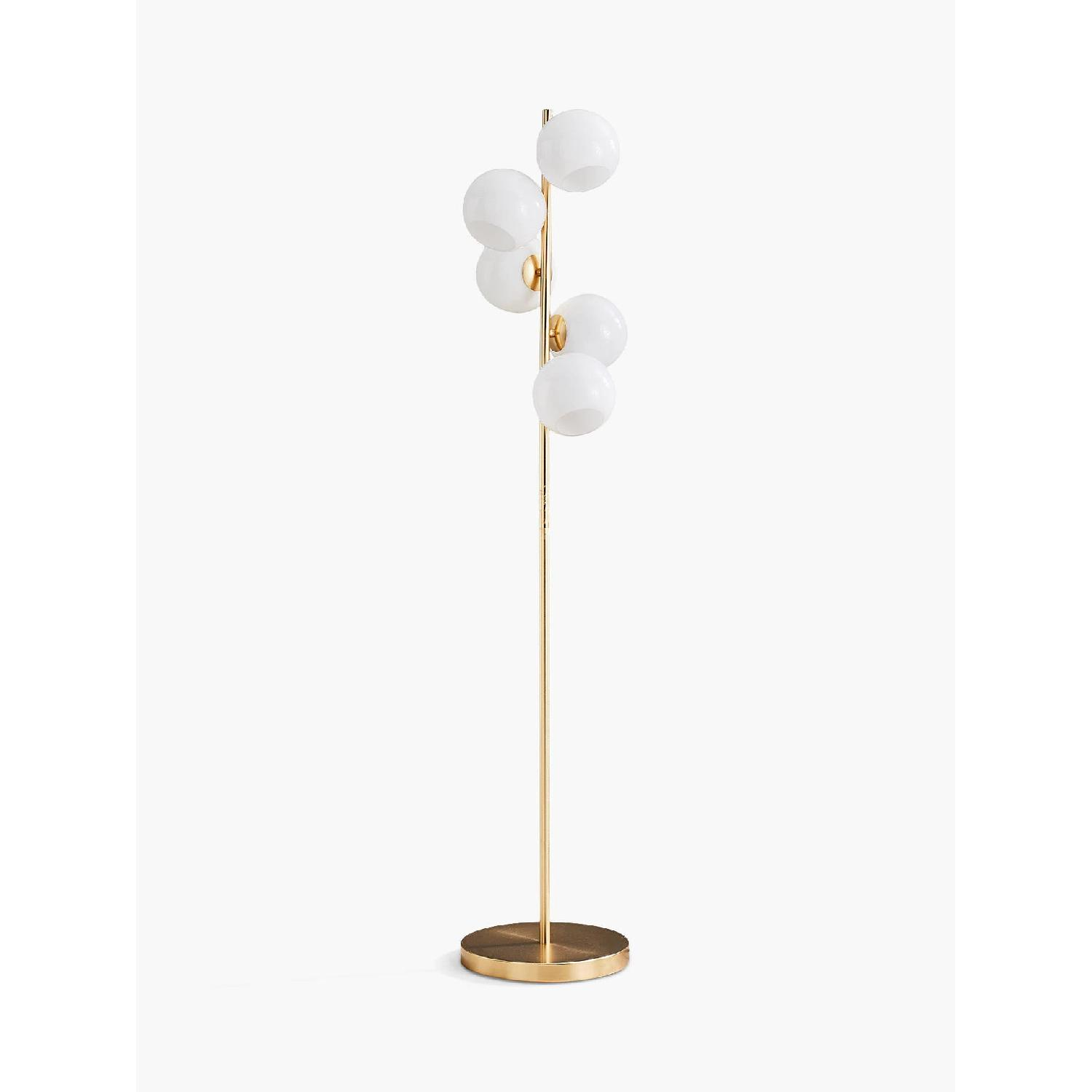 West Elm Staggered Glass Floor Lamp - image-0
