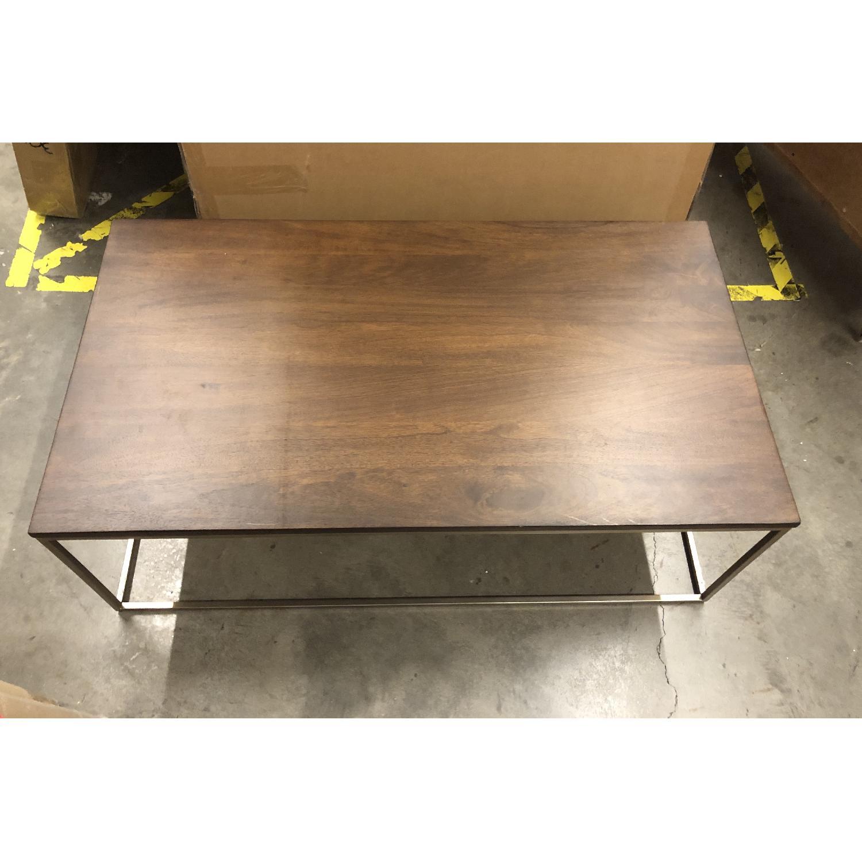 West Elm Streamline Rectangle Coffee Table - image-1