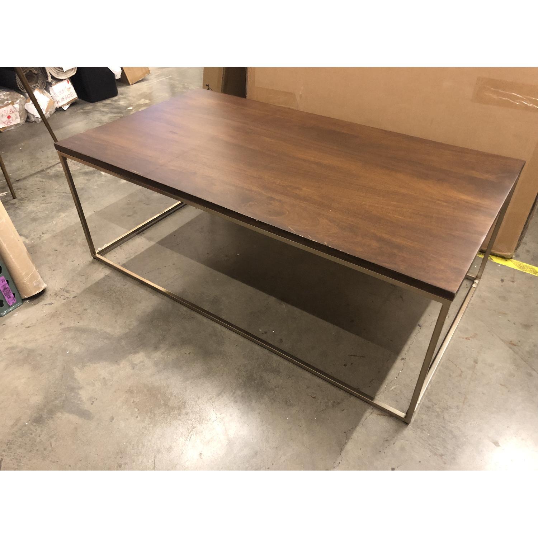West Elm Streamline Rectangle Coffee Table - image-3