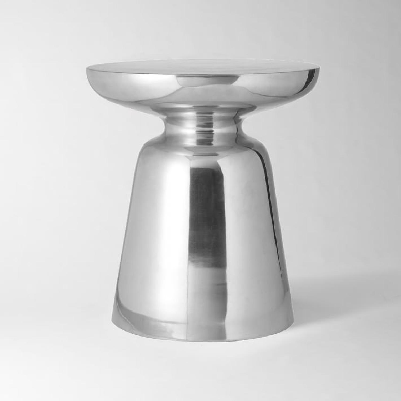 West Elm Martini Side Table in Metallics - image-0