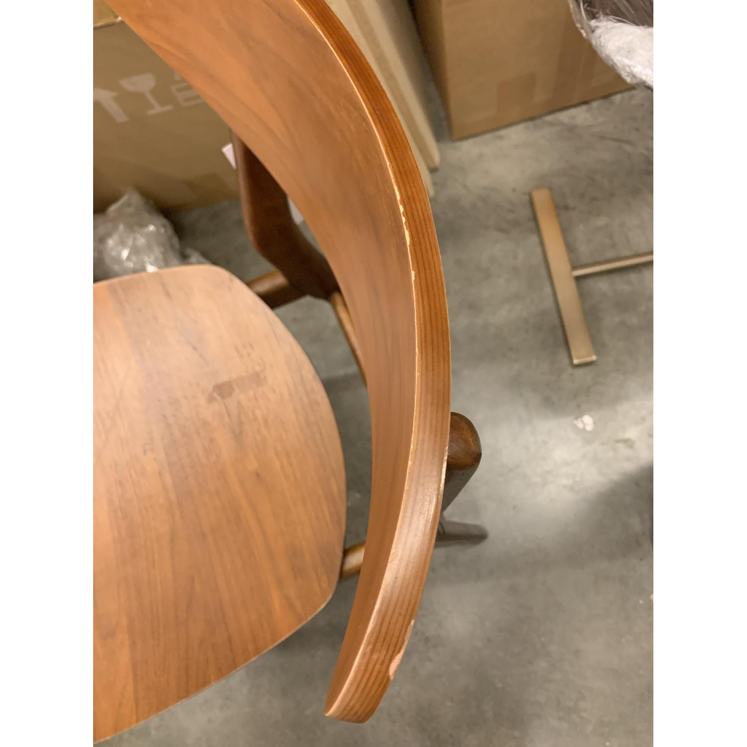 West Elm Classic Cafe Wood Dining Chairs in Walnut - image-1