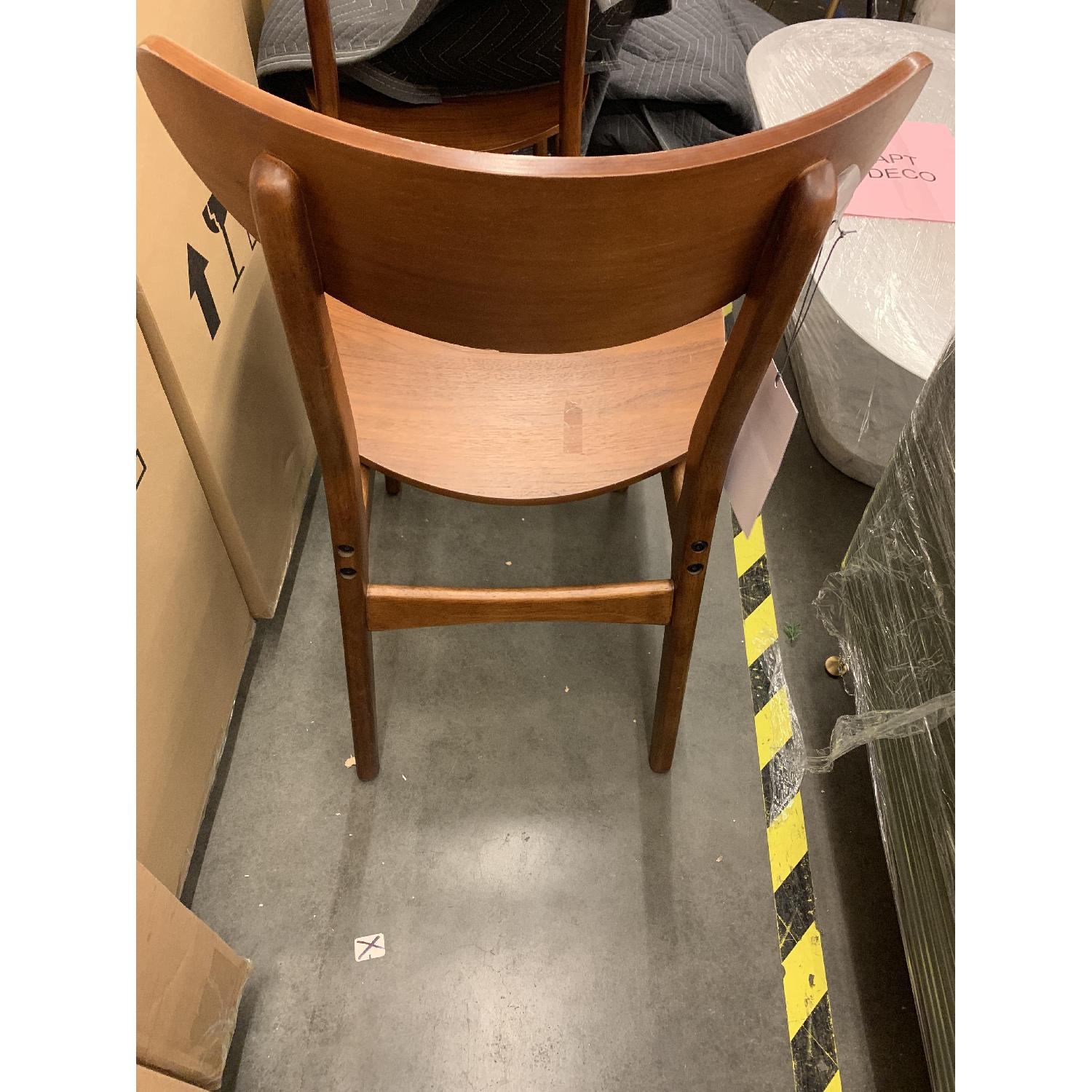 West Elm Classic Cafe Wood Dining Chairs in Walnut - image-4